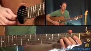 Teardrop Guitar Lesson - Massive Attack - Acoustic