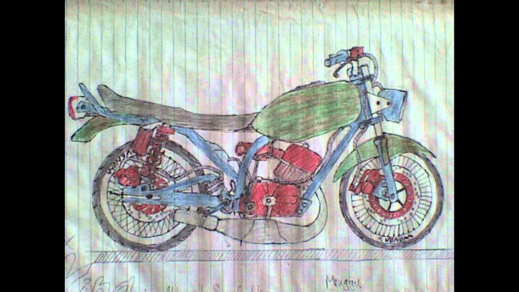 Koleksi Gambar Motor Modifikasi Hand Made  YouTube