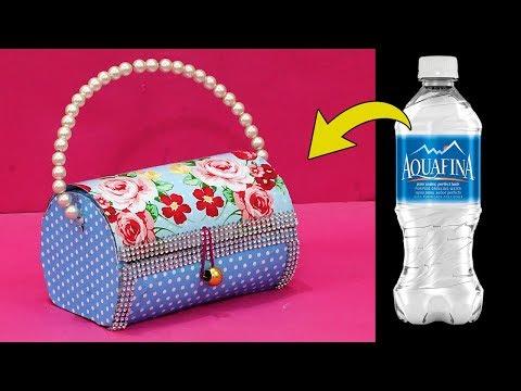 Best Out of Waste Plastic Bottle Hacks | DIY Plastic Bottle Hand Purse | StylEnrich