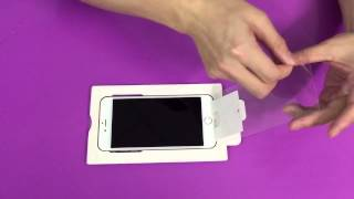 Tempered glass screen protector by DT