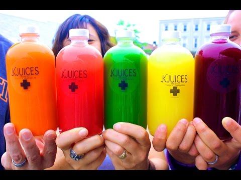 JK Juices Organic Cold Pressed Juice | Kickstarter
