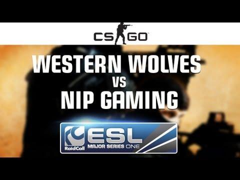 NiP Gaming vs. Western Wolves - Cup #2 Semifinal - RaidCall EMS One Fall 2013 - CS:GO