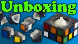 Subatomic Cube Unboxing - World Record Smallest Rubik