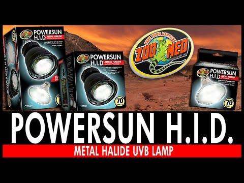 【~魚店亂亂賣~】美國ZOO MED水龜紫外線HID聚熱燈泡70W(PowerSun)UVB/UVA兩棲爬蟲專用