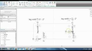 Furniture How To Build Table In Revit
