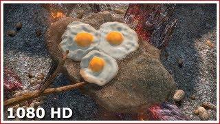 Фиона приготовила завтрак для Шрека и Осла | Прикол из Шрека (2001)