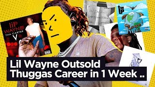 Lil Wayne Outsold Young Thugs Career in 1 Week with The Carter 5