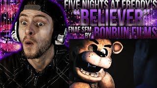 - Vapor Reacts 564 FNAF SFM FIVE NIGHTS AT FREDDY S ANIMATION Believer by BonBun Films REACTION