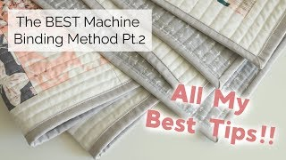 The BEST Machine Binding Method Part 2