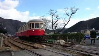片上鉄道 試運転のキハ07