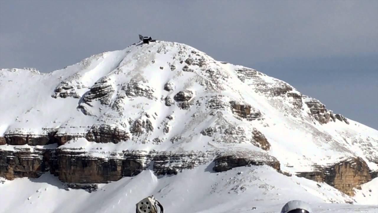 Sass Pordoi la terrazza delle Dolomiti - YouTube