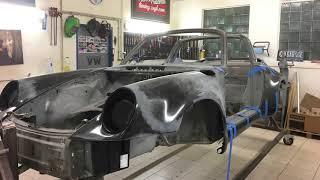 RESTORATION - Porsche 911 TARGA - GULF DESIGN