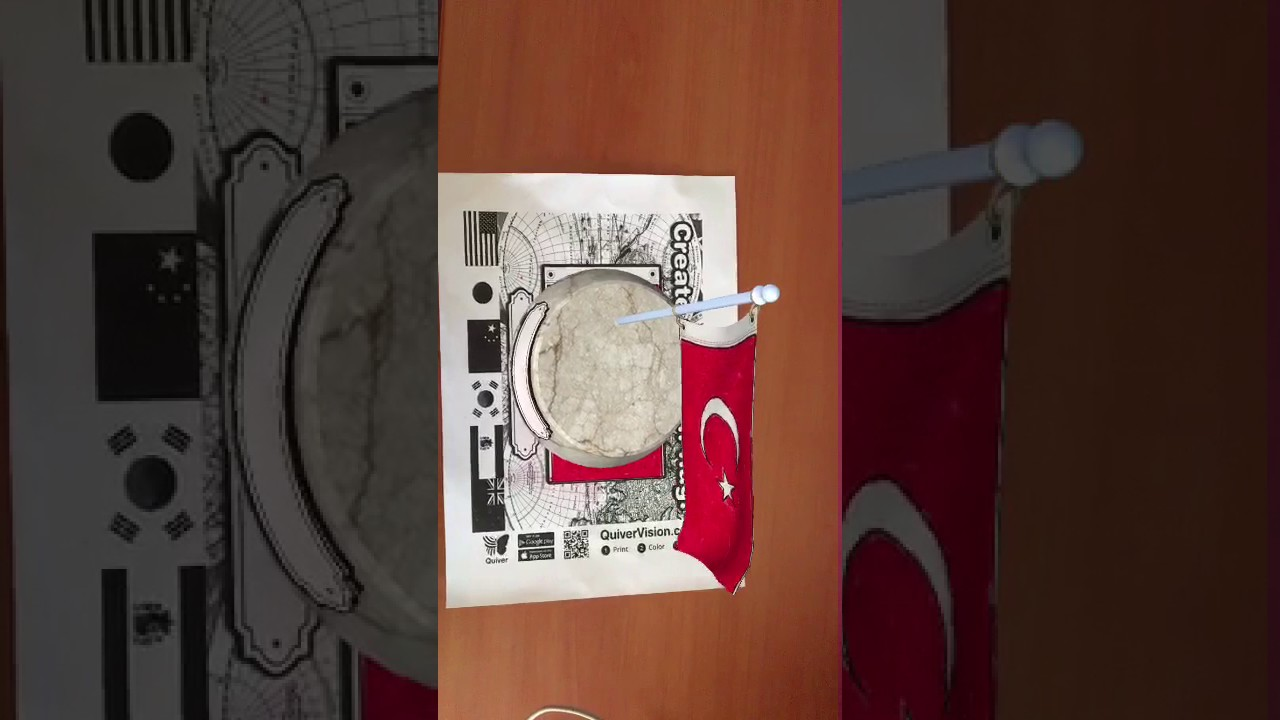 Konya Meram Atatürayrak Ilkokulu Tülin Arslanpinar Quiver Bayrak