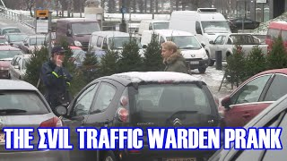 The Evil Traffic Warden Prank