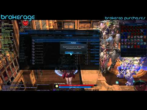 Tera Online Brokerage Guide/Tutorial