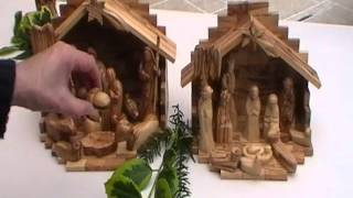 Bethlehem Olive Wood Nativity Sets
