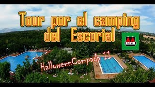 Camping del Escorial, Madrid, Spain