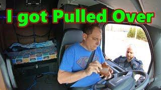 Trucker Rudi is in Trouble now I got Pulled Over Trucker Rudi 04-23-19 Vlog#1752