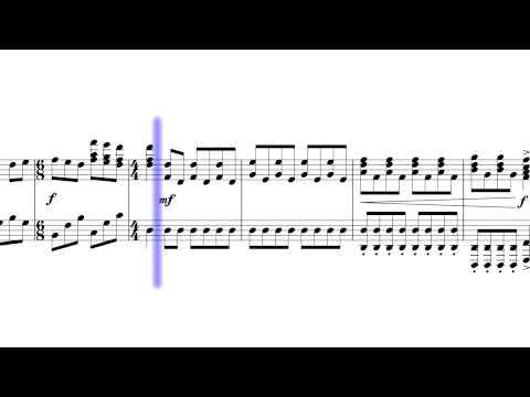 Élan by Nightwish - Scrolling Sheet Music