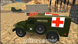 US Army Ambulance Driving Game : Transport Games | An Ambulance Service Game | Android Games screenshot 5