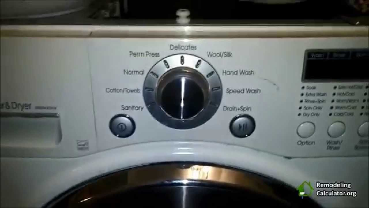 Lg Washer Amp Dryer Repair Remove Lint Part 2 Youtube