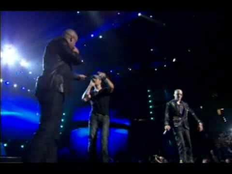 "Wisin y Yandel FT Enrique Iglesias ""Lloro por ti "" Live in  Porto Rico"