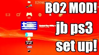 How To Set Up A PS3 JAILBREAK! (Basic Info On Ps3 Modding!) How To Mod BO2 ONLINE!