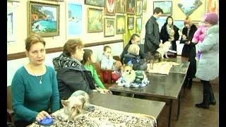 В Феодосии провели выставку собак декоративных пород