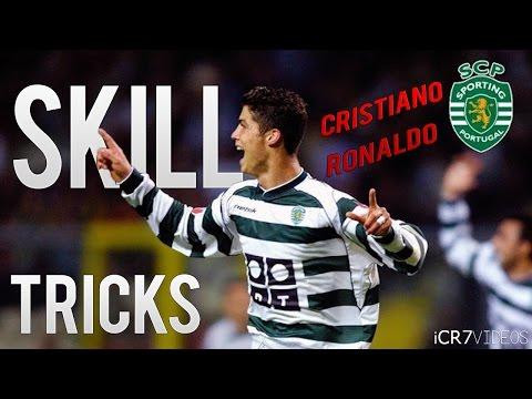 Cristiano Ronaldo - Sporting Lisbon - Skills & Tricks | HD