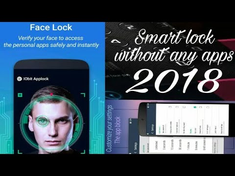 Smart lock no pattern no password face face lock without any apps ( kuchh naya ) made by Hitesh rana