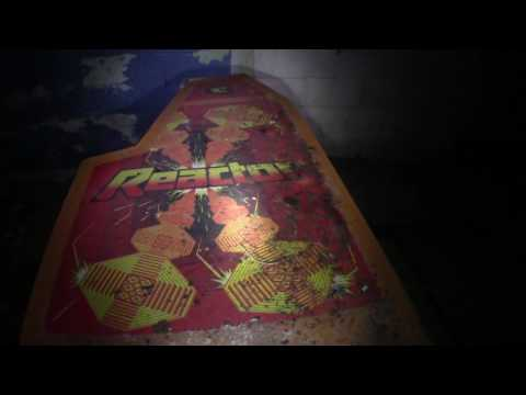 Basement Full of Vintage Arcade Games in Abandoned Home, Creepy Night Explore