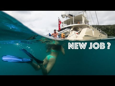 New Job? | Sailing Yacht Jalun | Australia