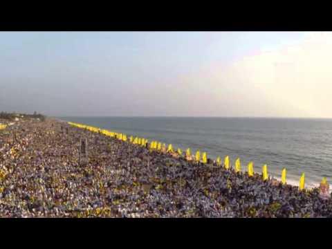 SNDP Yogam Thiruvithamkoor  Ezhava Maha Sangamam Shanghumukham Part1