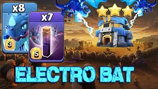 8 Electro Dragon + 7 Max Bat Spell + New Stone Slammer :: TH12 ATTACK STRATEGY 2019 (Aftre Nerf)