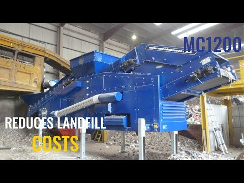 Reduce landfill costs and generate new revenue with the Edge MC1200