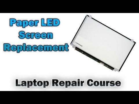 Laptop Paper LEDScreen Replacement