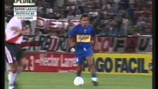 Boca 4 River 0 Copa Ciudad Mar del Plata 2002 Los goles e Incidentes Relato Mariano Closs wmv   YouTube