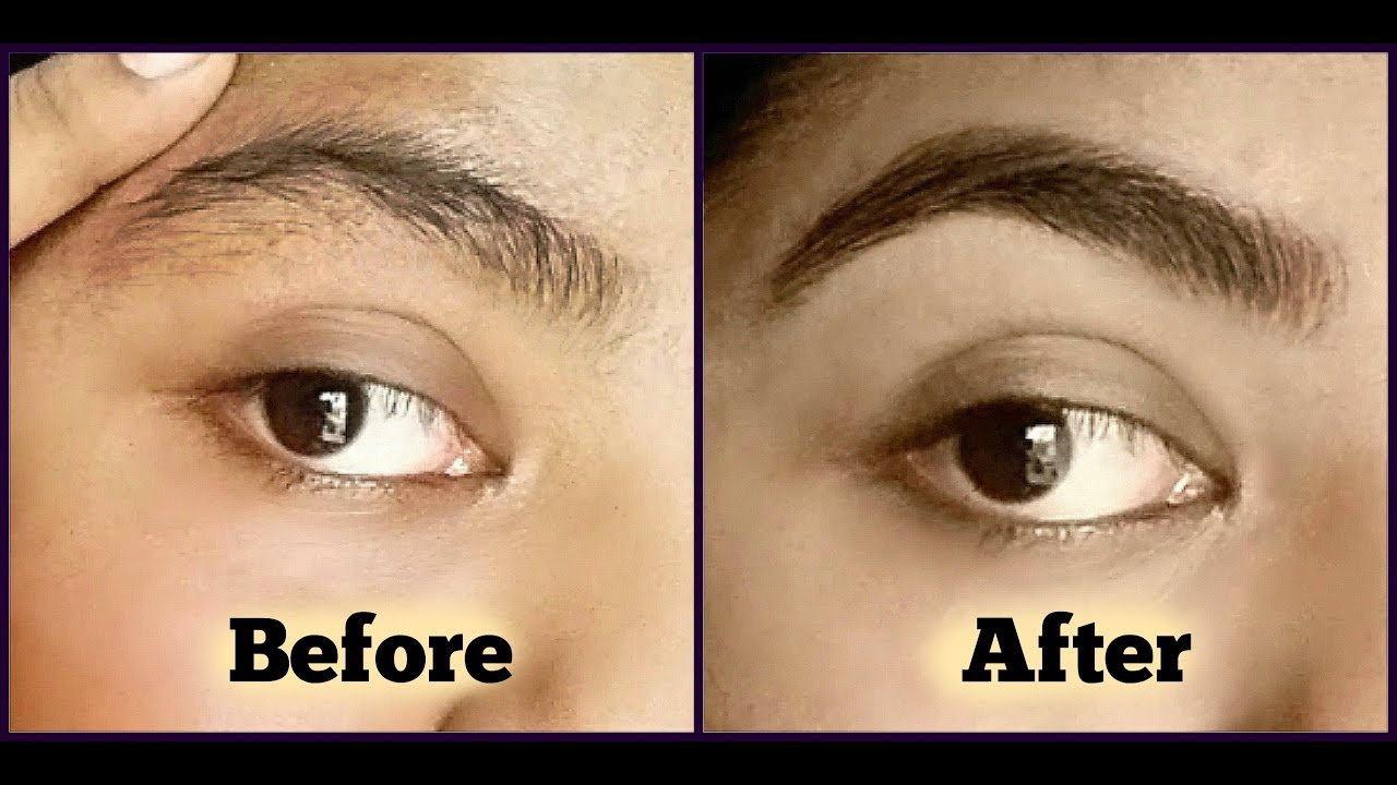 How to Shape Eyebrows Perfectly at Home । how to do ...