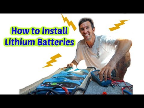 Installing Lithium batteries on a Sailboat  (Sailing Nandji)
