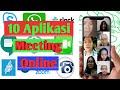 - 10 Aplikasi Meeting Online Terbaik