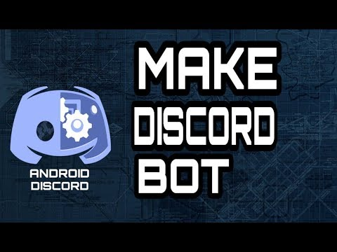 How To Make a Discord Bot On Mobile - MAKING A DISCORD BOT IN ANDROID  (ANDROID DISCORD) 2019
