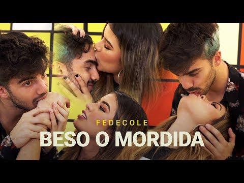 Beso o Mordida Challenge ft. Fedecole 💋 #1