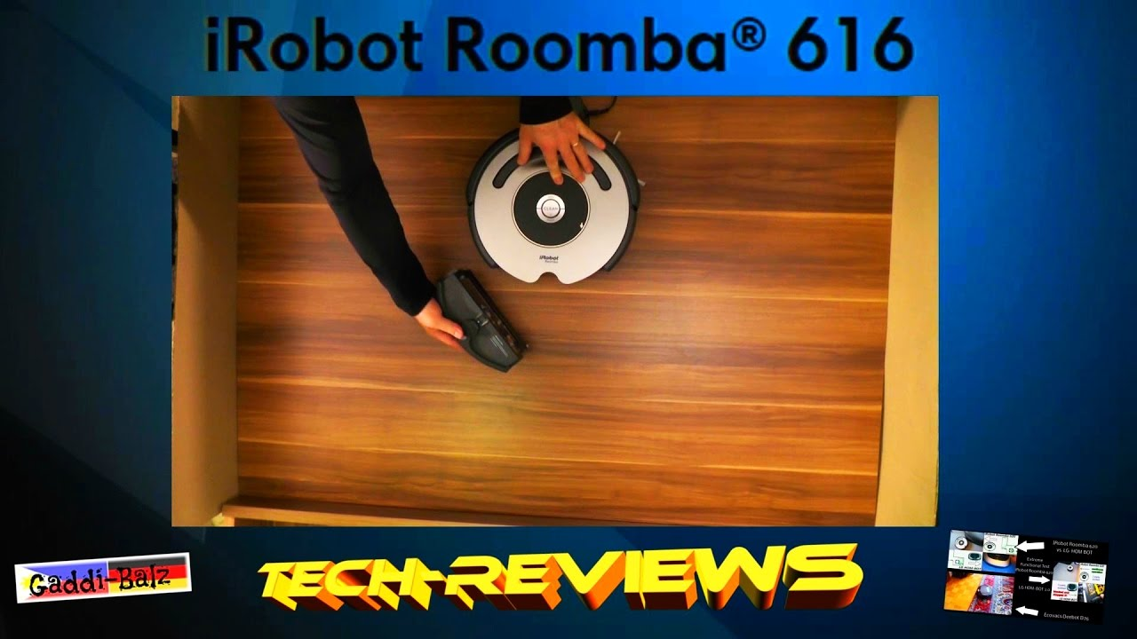 irobot roomba 616 vacuum reviews cleaning robot test - Roomba Vacuum Reviews