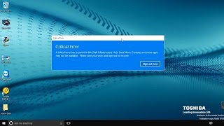 How to fix Critical error on Windows 10 and/or downgrade to Windows 7/8.X without a recovery disk