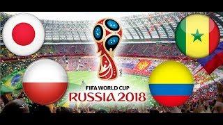 TURNIEJ PANINI FIFA WORLD CUP RUSSIA 2018 JAPONIA - POLSKA, SENEGAL - KOLUMBIA