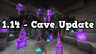 Minecraft 1 14 Cave Update Stairs Update Or Fan Update Vloggest