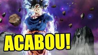 ACABOU! O FIM DE DRAGON BALL SUPER DUBLADO!