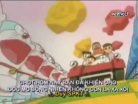 Doraemon: Tập 1 – Tàu ngầm giấy – Bình chứa gas làm đông mây
