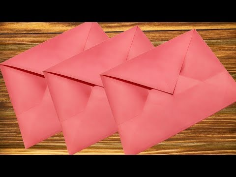 Envelope Making With Paper Without Glue &Tape Envelope making with paper without Scissors