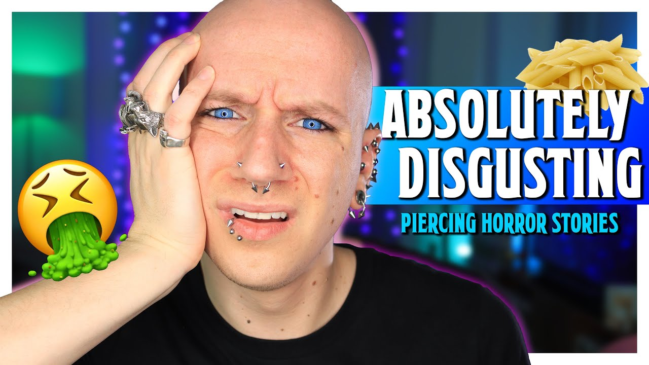 Download Cleaning Piercings With Dirty Pasta Water! | Piercing Horror Stories 20 | Roly Reacts